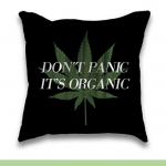 Hip, Fun and Plush Cannabis Throw Pillows -  Marijuana Home Decorations
