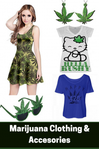women's marijuana clothing
