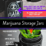 Cool, Funky and Eclectic Marijuana Storage Jars