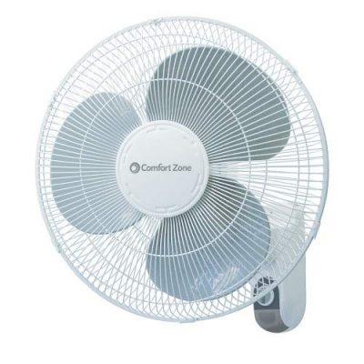 Comfort Zone 16 inch Wall Mount Fan