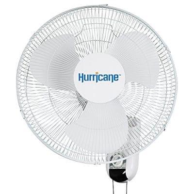 Hurricane 16 Inch Oscillating Wall Fan